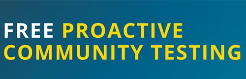 Proactive Community Testing